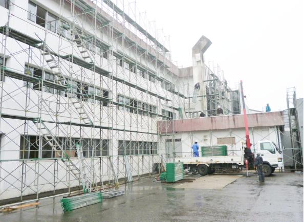 村松小学校校舎屋内体育館解体工事