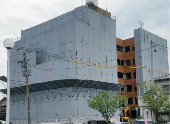 末広病院解体工事