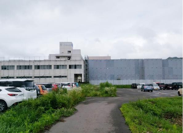 県立六日町病院解体工事