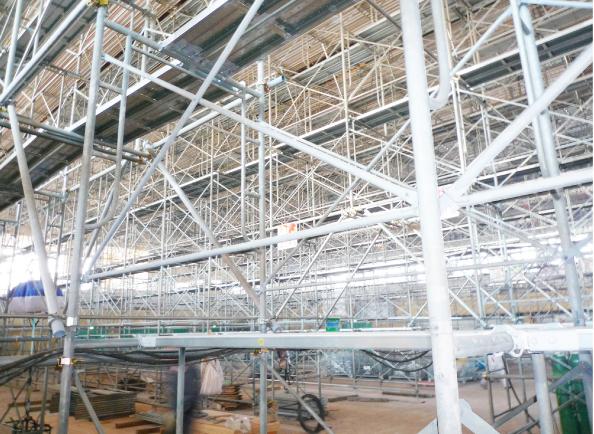 黒埼地区総合体育館耐震補強工事