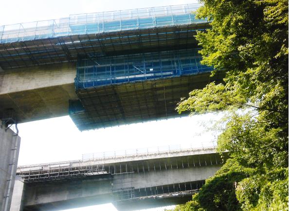 前川橋補修工事
