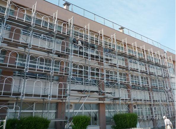 藤見中学校大規模耐震補強工事