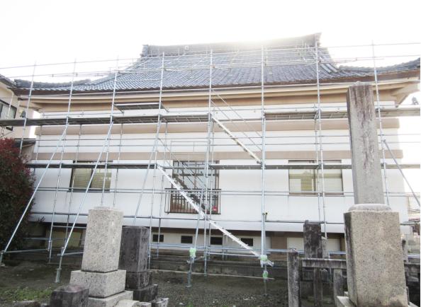 長養寺改修工事